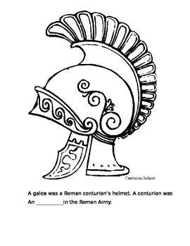 Roman History Coloring Packet Ancient Rome Roman History Roman