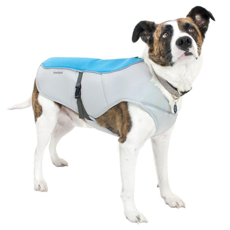 Dog Cooling Vest With Reflective Side Stripping Dog Cooling Vest