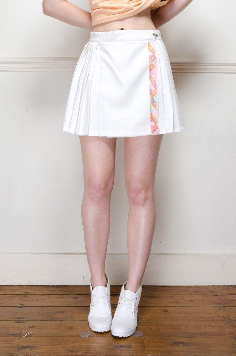 Vintage 70 S Adidas Pleated Tennis Skirt Retro Vintage Clothes Uk Tennis Skirt Pleated Tennis Skirt Clothes