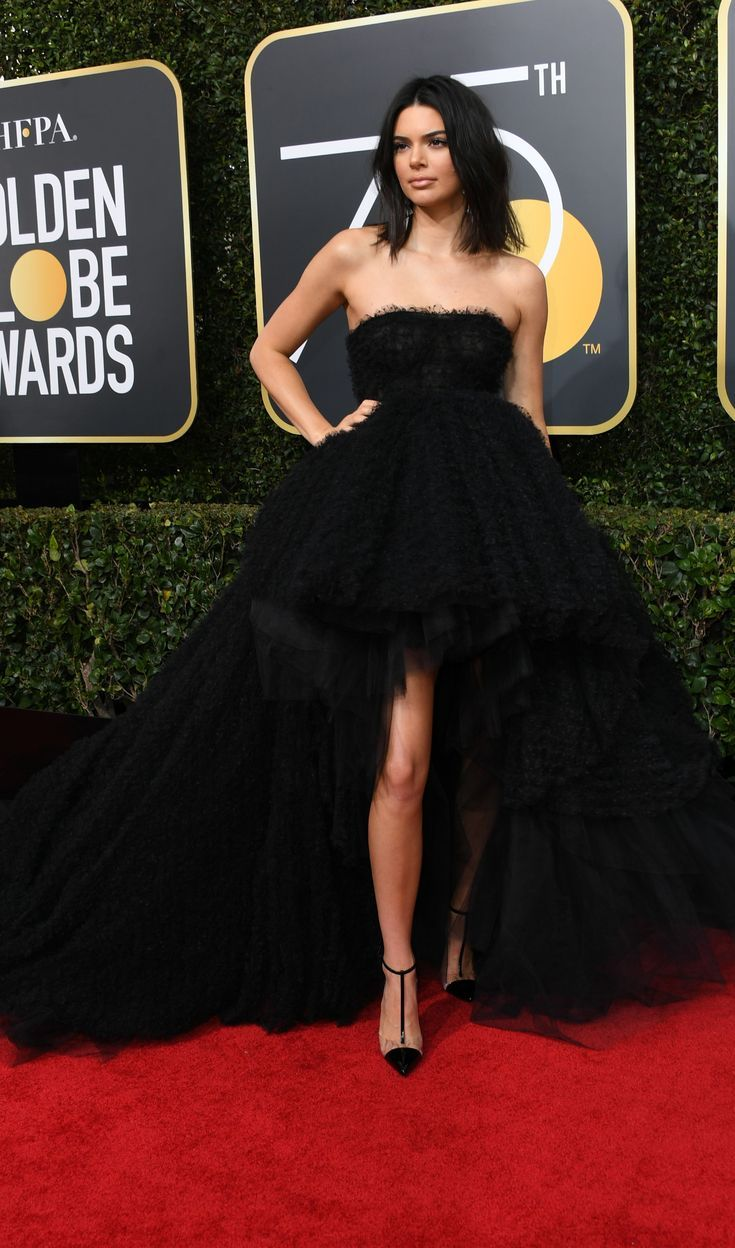 Everyone Who Wore Black To Tonight's Golden Globes