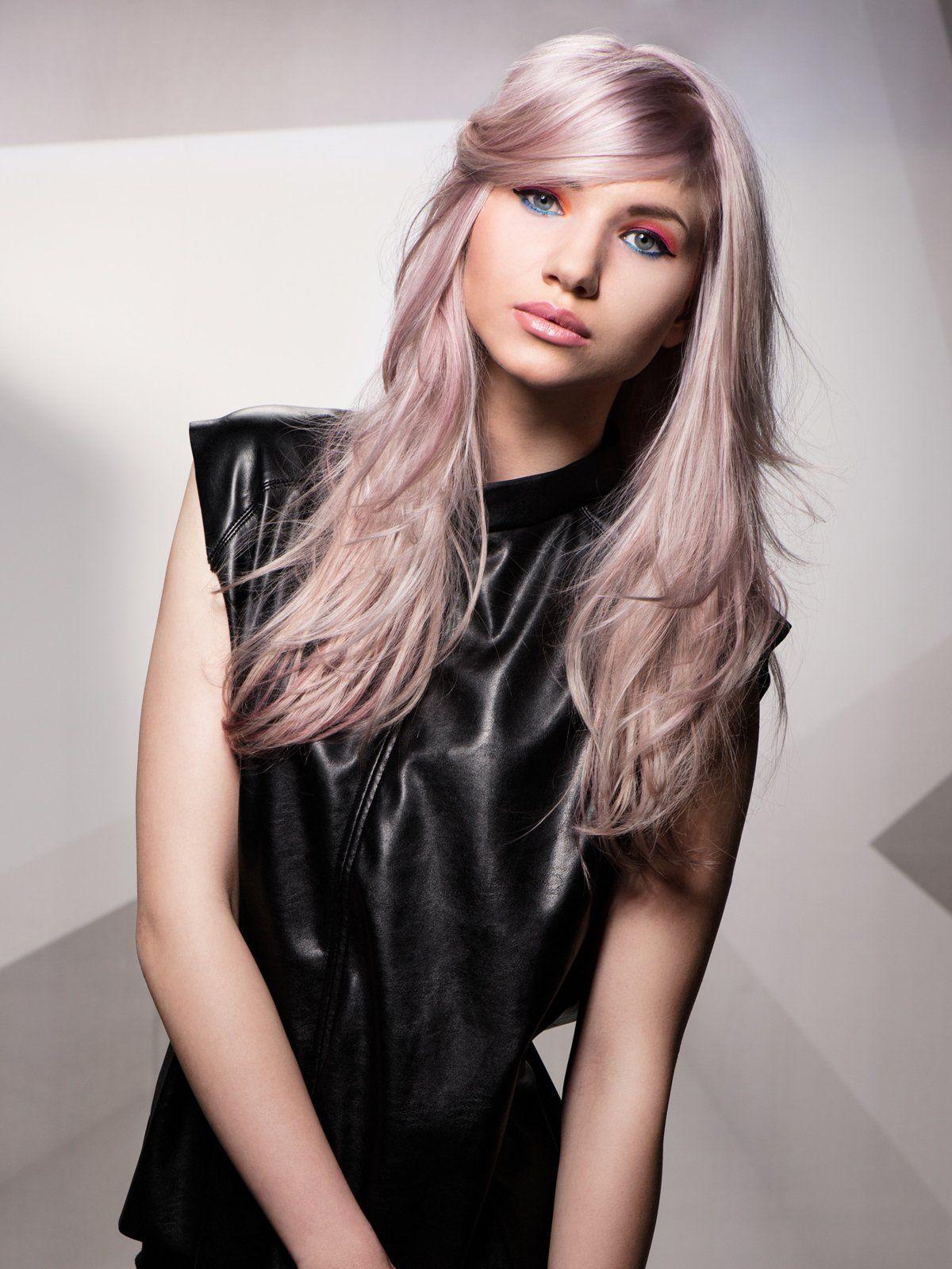 Trendfrisuren 2016 Pastell Haare Rosa Haare Graue