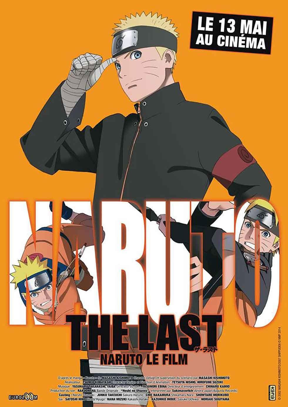 The Last Naruto Le Film, The Movie pour la première fois