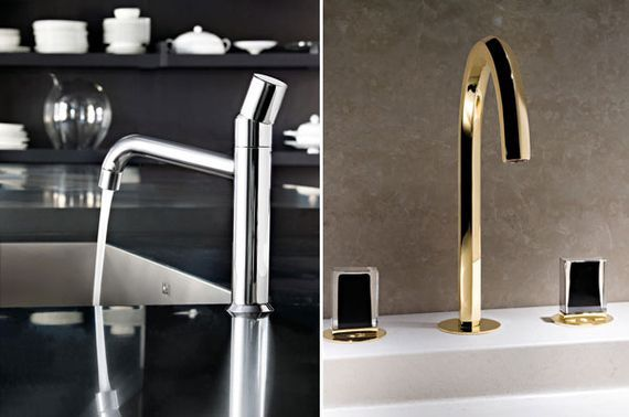 contemporary italian kitchen trends and timeless faucet