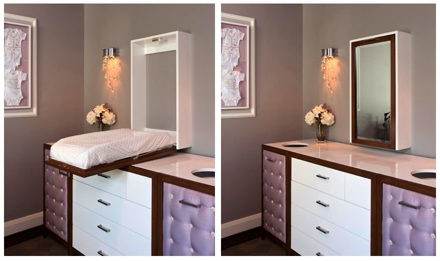 Gallery For Photographers A Glam and Luxe Custom Changing Table Diapers Change tables and Project nursery
