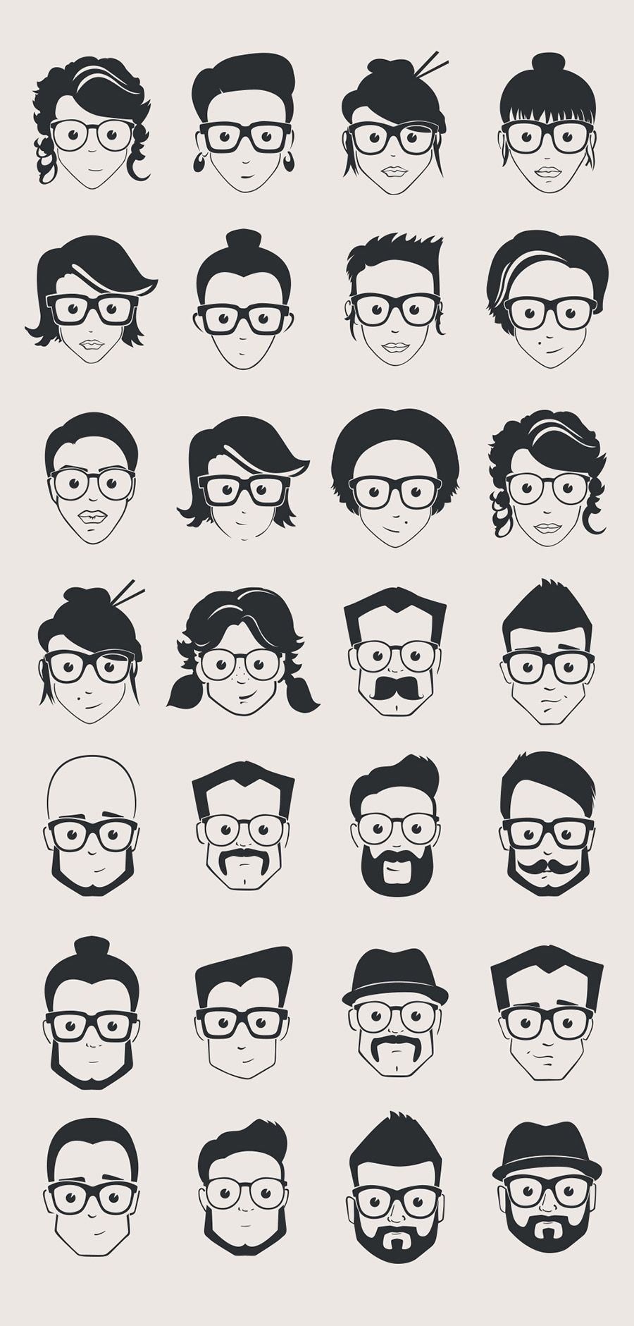 Free Vector Geek Pack — Free Design Resources Vector