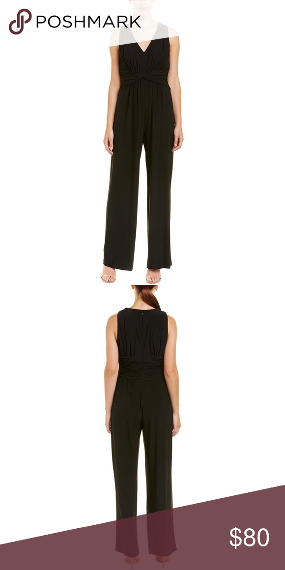 6a8ad4f83504 Eliza J Black Jumpsuit Size Large New with tags size large Eliza J ...