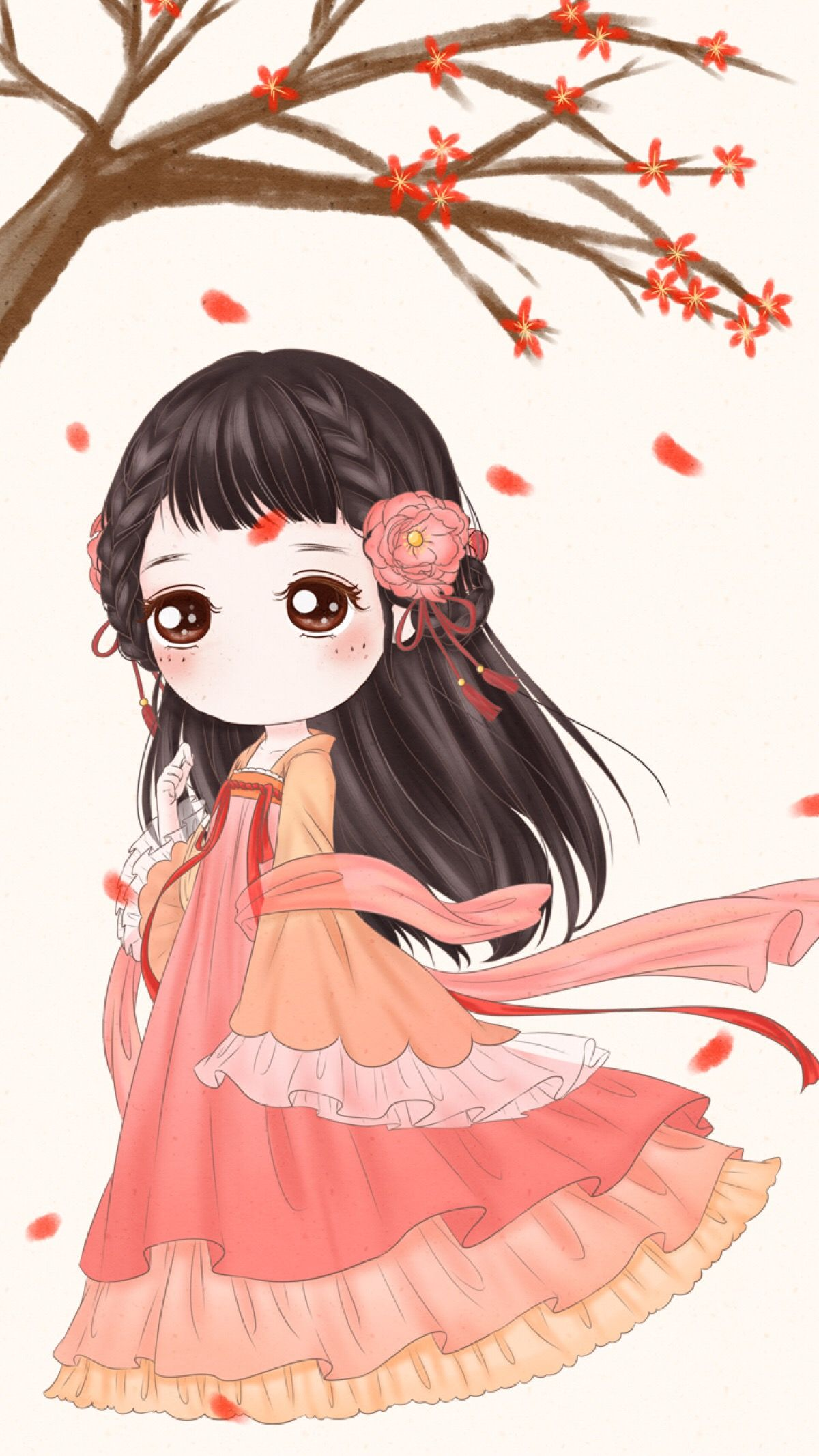 小薇的世界光 小薇 壁纸 | kawaii girls | pinterest | chibi, kawaii