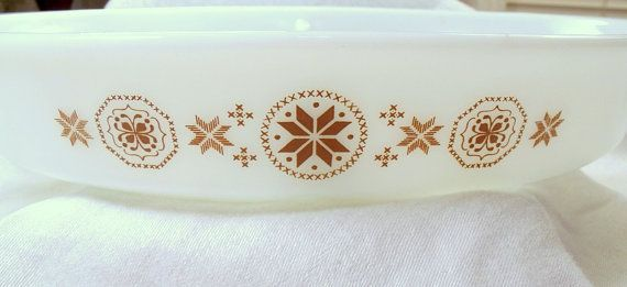 Pyrex Divided Casserole Dish  Town & Country by OasisAccents, $8.95