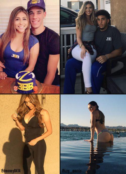 Wcw Watch Lonzo And Liangelo Ball Girlfriends Show Off Their Http Ift Tt 2vj2dos Liangelo Ball Ball Girlfriends