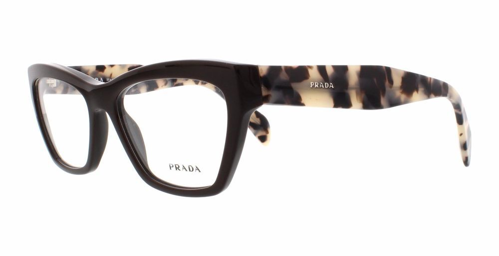 f9ed84b4140 New Prada Eyeglasses PR 14QV Col TFN1O1 Size 53 MM DC S