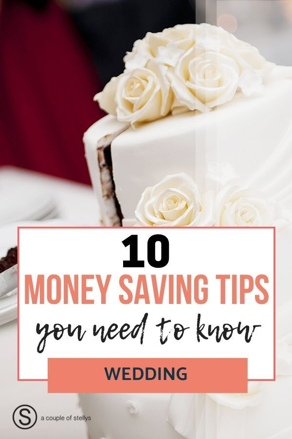 How to Save Money with These Ten Wedding Ideas and Tips #startsavingmoney