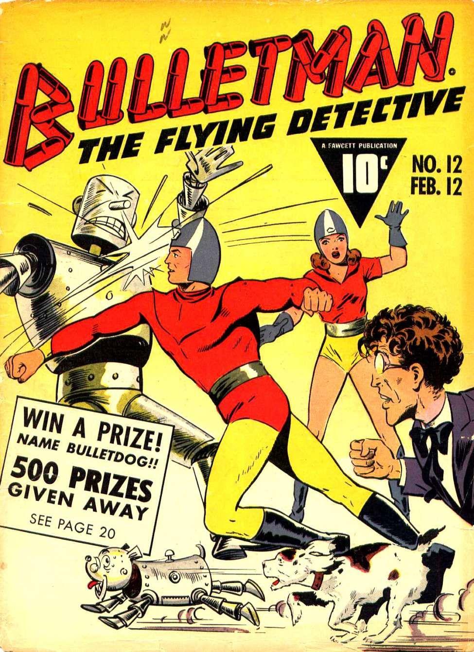 Bulletman (and Bullet'girl')
