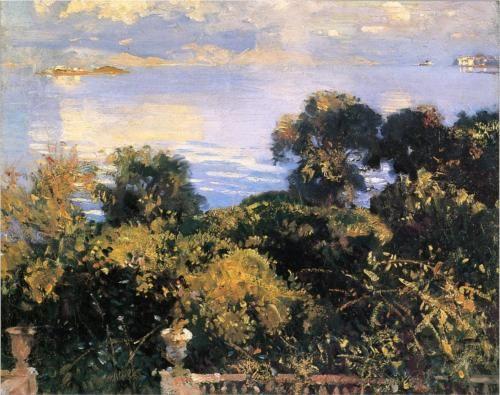 Oranges at Corfu - John Singer Sargent, c.1909