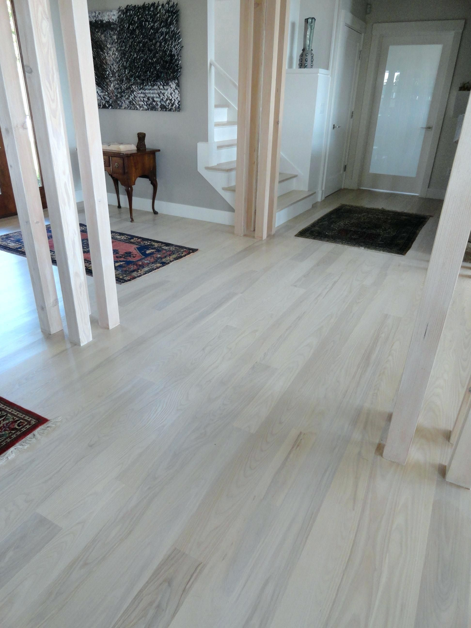 Bleach Laminate Wood Floors With