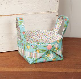 Easter Egg Baskets sewing quilting Pattern Download | aff link ... : quilted basket pattern - Adamdwight.com
