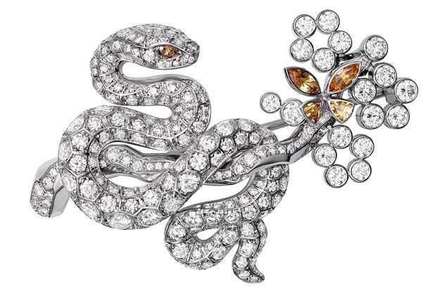 BROOCHES HARRODS OF LONDON | ... Les Indomptables de Cartier snake brooch (price on request; Cartier