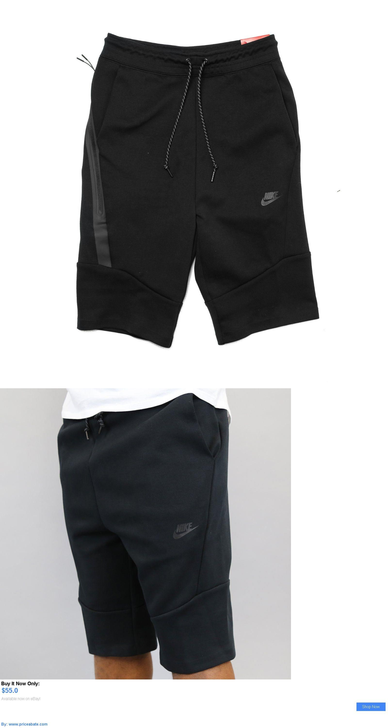 00275736d8 Men Athletics: Nike Tech Fleece Shorts 2.0 Black # 727357 010 Men Sz S - Xl  45% Off BUY IT NOW ONLY: $55.0 #priceabateMenAthletics OR #priceabate
