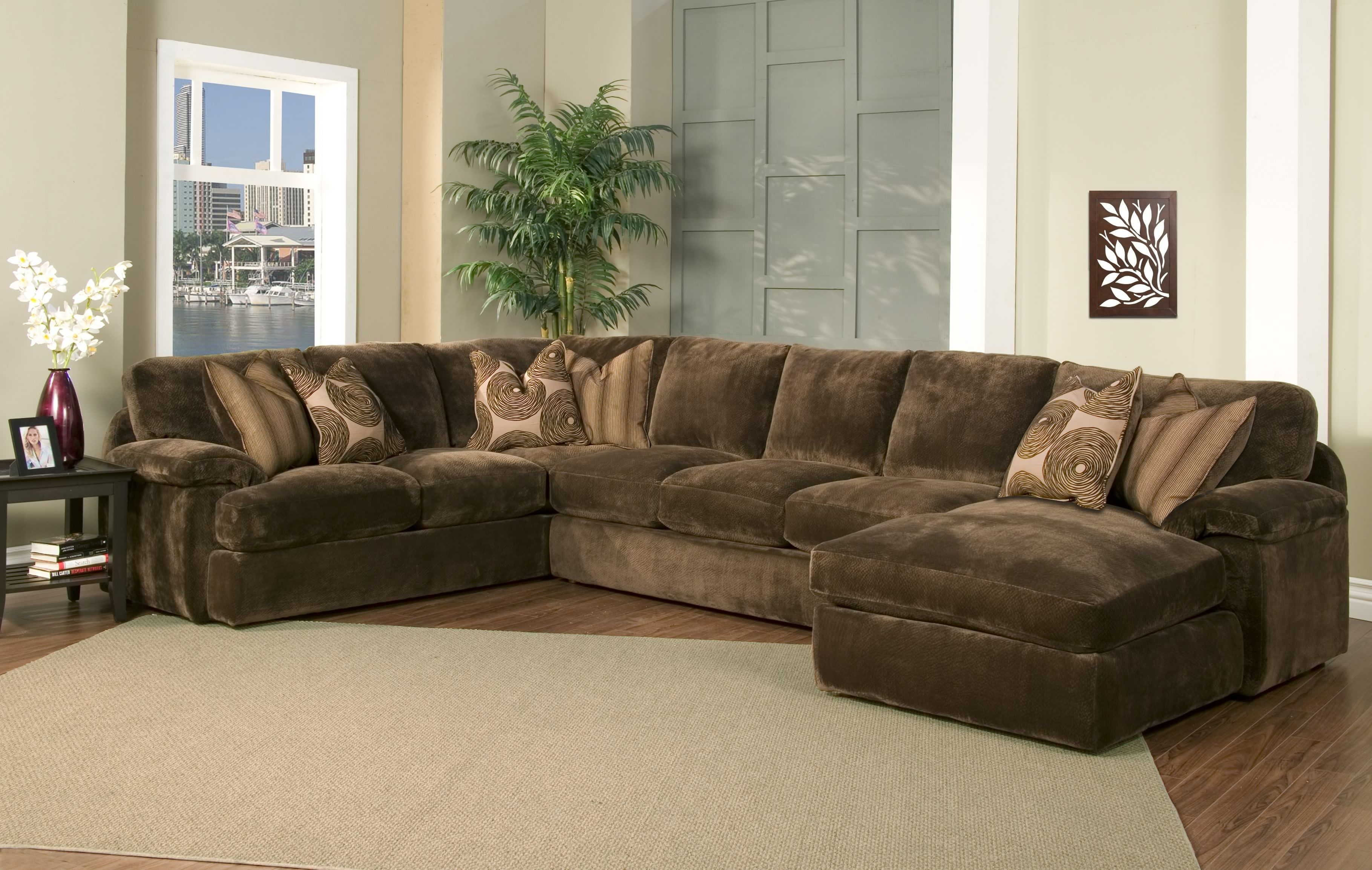 Goose Down Sectional Sofas Sectional Sofa With Chaise Luxury