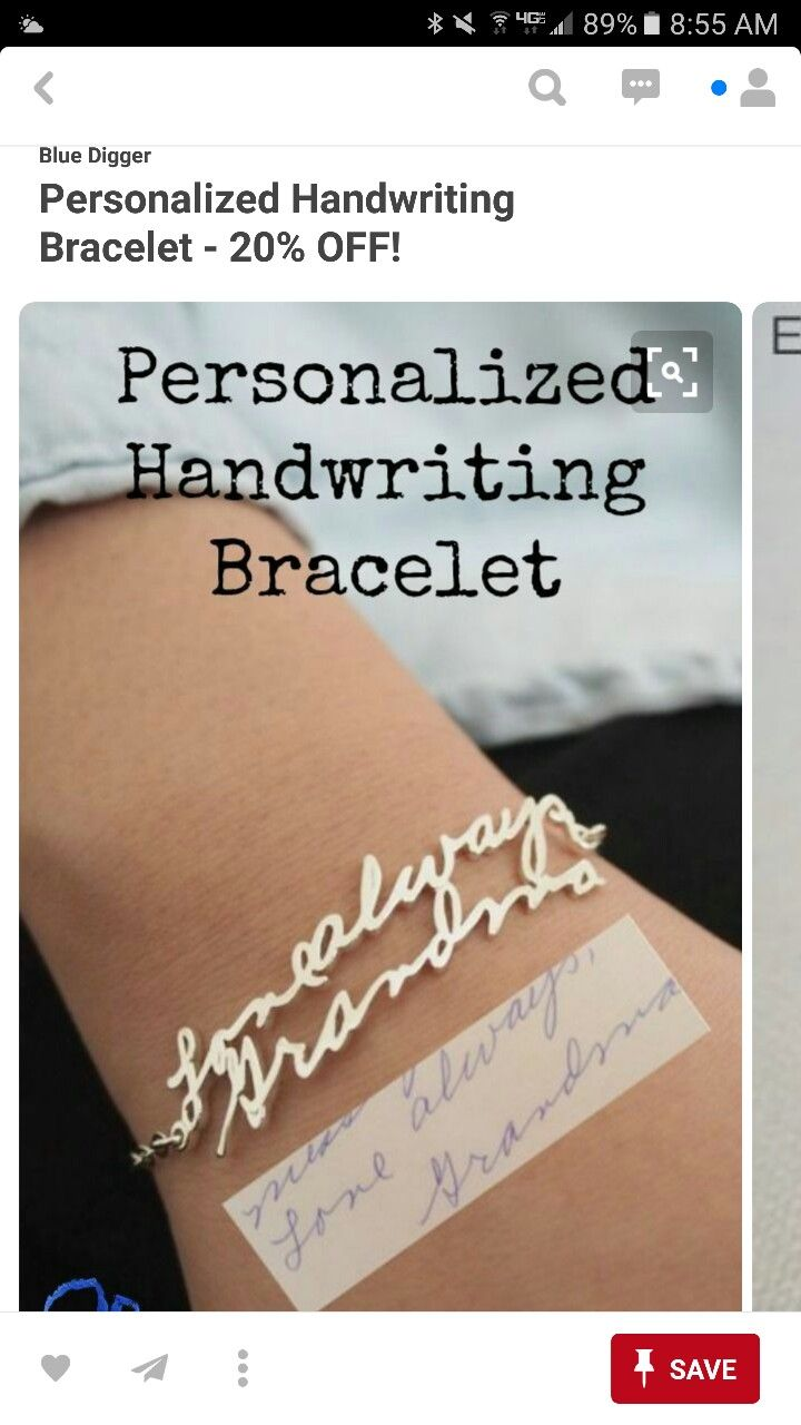 """Want this w mommys handwriting """"danielle"""""""