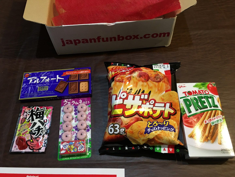 Subscription Box Review Japan Fun Box YUM! Caverns