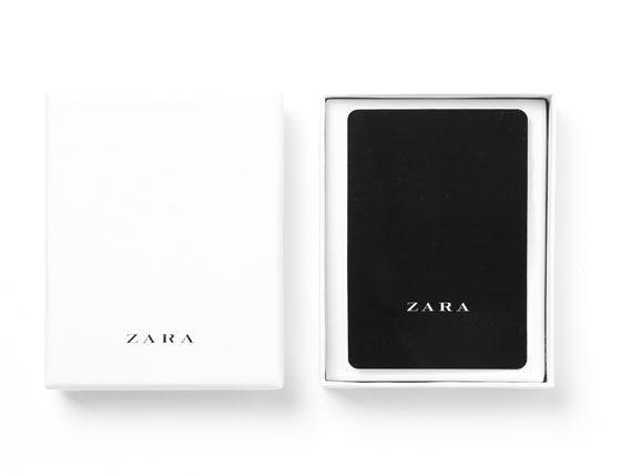 Image 1 Of Gift Card From Zara Tarjetas De Regalo Regalos