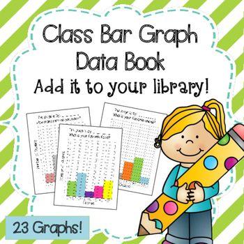 Class Data Book with 23 Bar Graphs Bar graphs, Bar and Students - blank bar graph printable