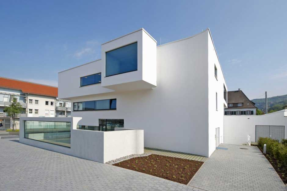 Architecture Modern Architecture Design With Cube