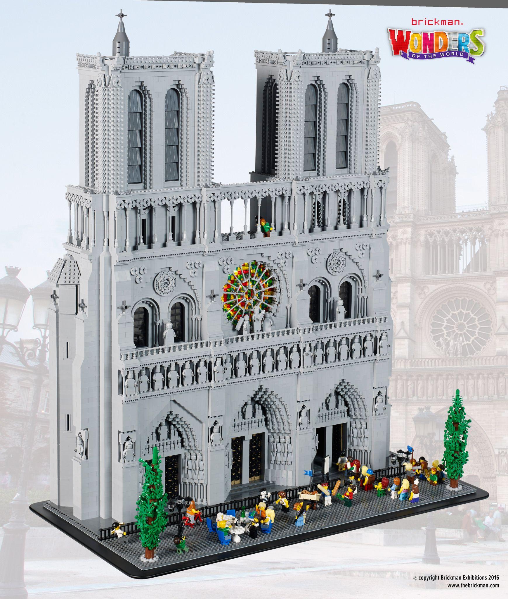 Lego Notre Dame Cathedral Lego Architecture Lego Castle Lego Modular