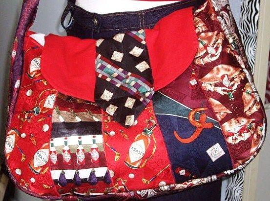 faire un sac cravate des mod les des tutos kirkyama. Black Bedroom Furniture Sets. Home Design Ideas