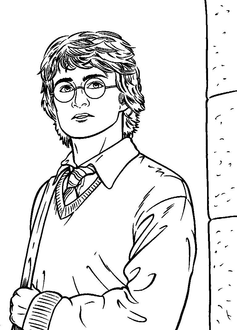 Harry potter coloring pages and book,harry potter coloring