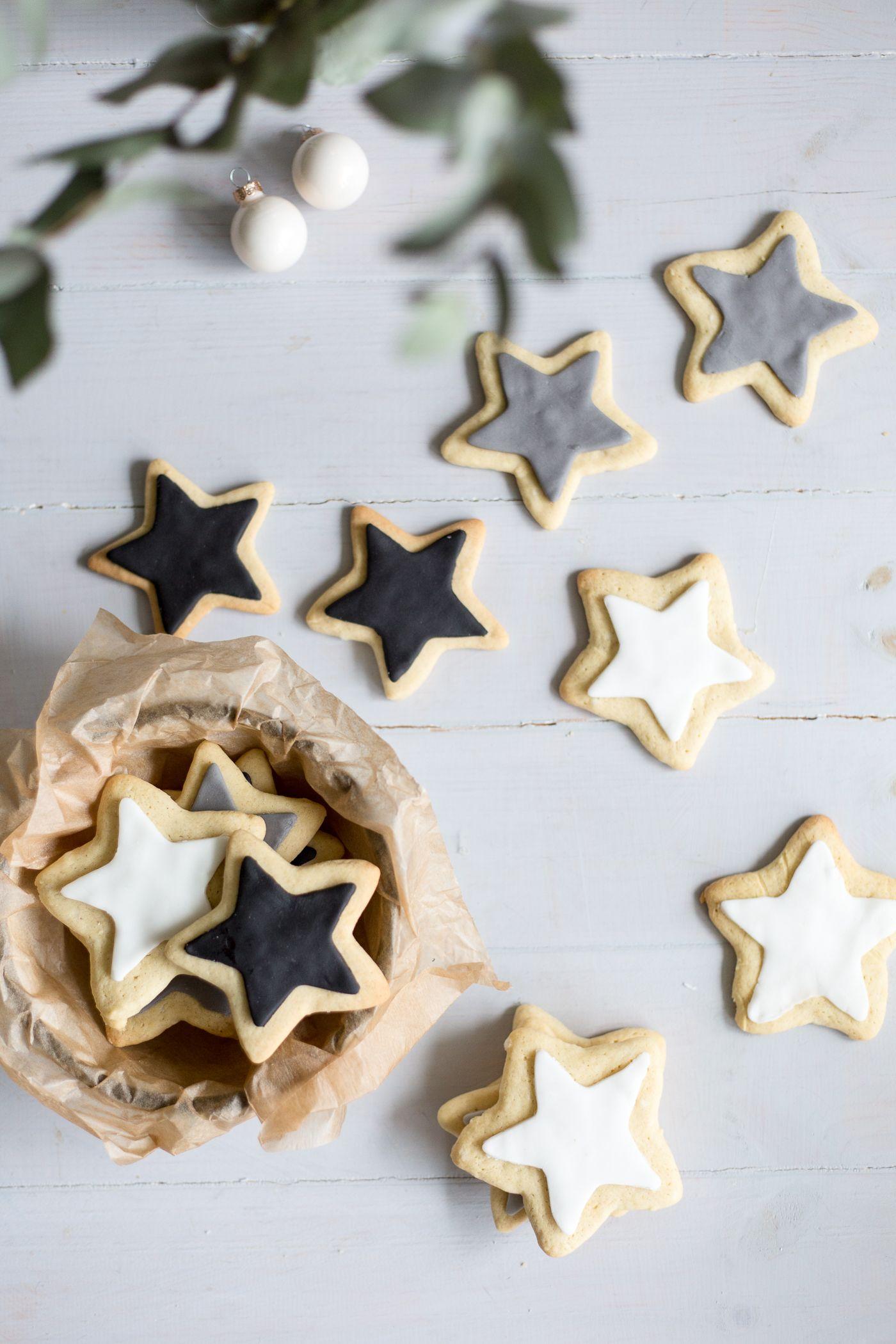 Christmas Wishes & Monochrome Sugar Cookies (Vegan Friendly)