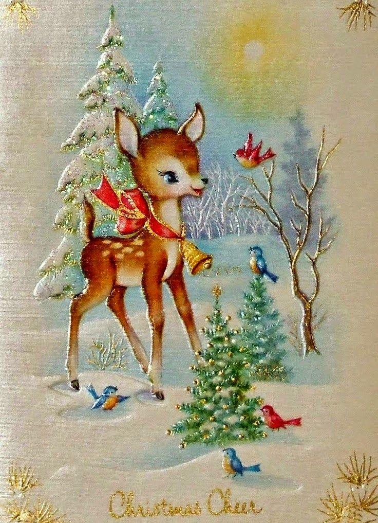 IMÁGENES ANTIGUAS DE NAVIDAD | Postal navideña vintage, Navidad antigua,  Navidad retro