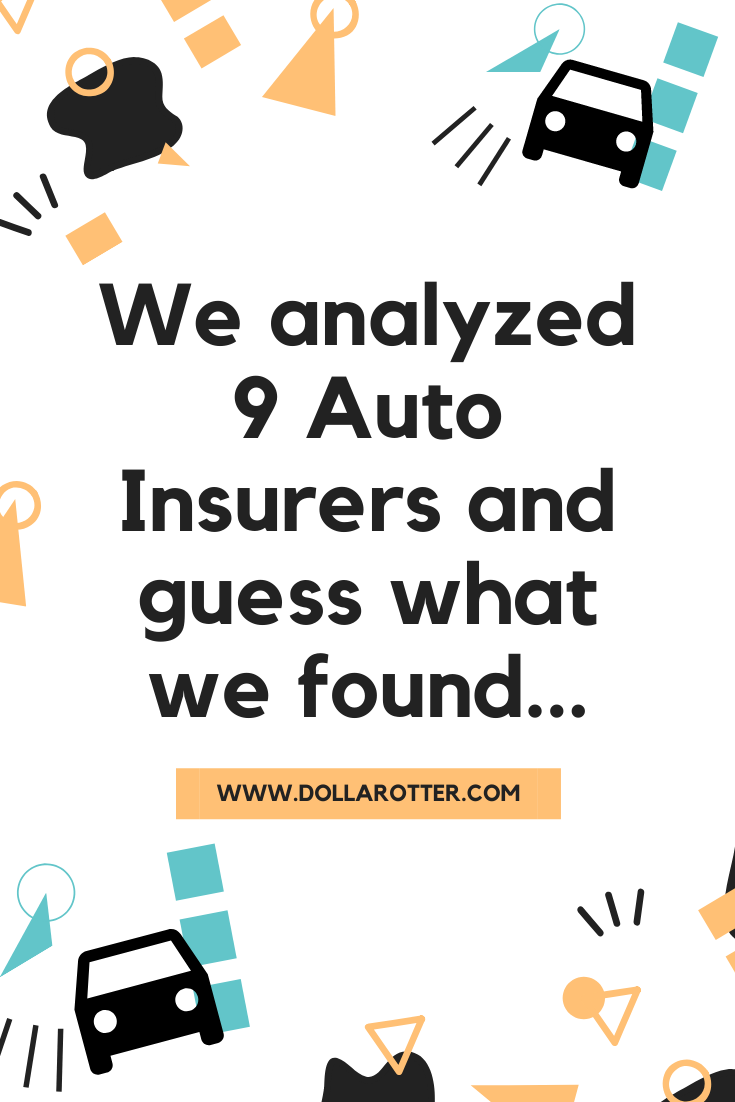 We Analyzed 9 Auto Insurance Companies Comparing Equal Coverage We Were Shocked To See Which Companies H In 2020 Insurance Quotes Auto Insurance Quotes Car Insurance