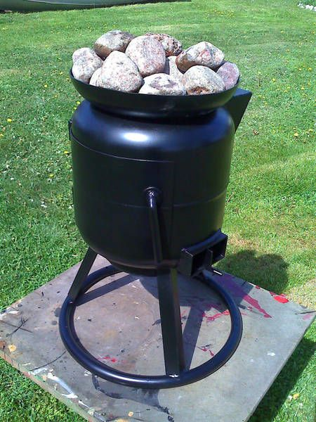 diy wood stove pirate4x4 com 4x4 and off road forum hot tub pinterest poele a bois. Black Bedroom Furniture Sets. Home Design Ideas