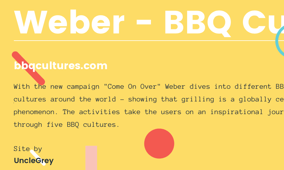 Typewolf Site of the Day for December 19, 2015.