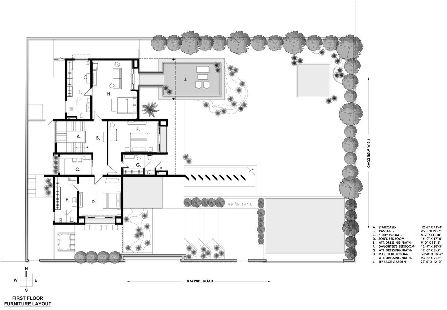 Gallery Of 02 The Hidden House A T Associates 27 In 2020 Hidden House Floor Plans Sims House Plans