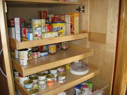20 tolle Speisekammer Ideen - Aufbewahrung von Lebensmitteln in 2018 ...