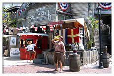The Key West Shipwreck Treasures Museum celebrates the rich history of the Key West wreckers with two floors of shipwreck artifacts that include treasures from the Spanish fleets of the 16 & 1700's, as well as a vast collection of pieces from the 1856 wreck of the Isaac Allerton. Guests can even lift a silver bar salvaged from the Spanish treasure galleon, Nuestra Senora de las Maravillas.