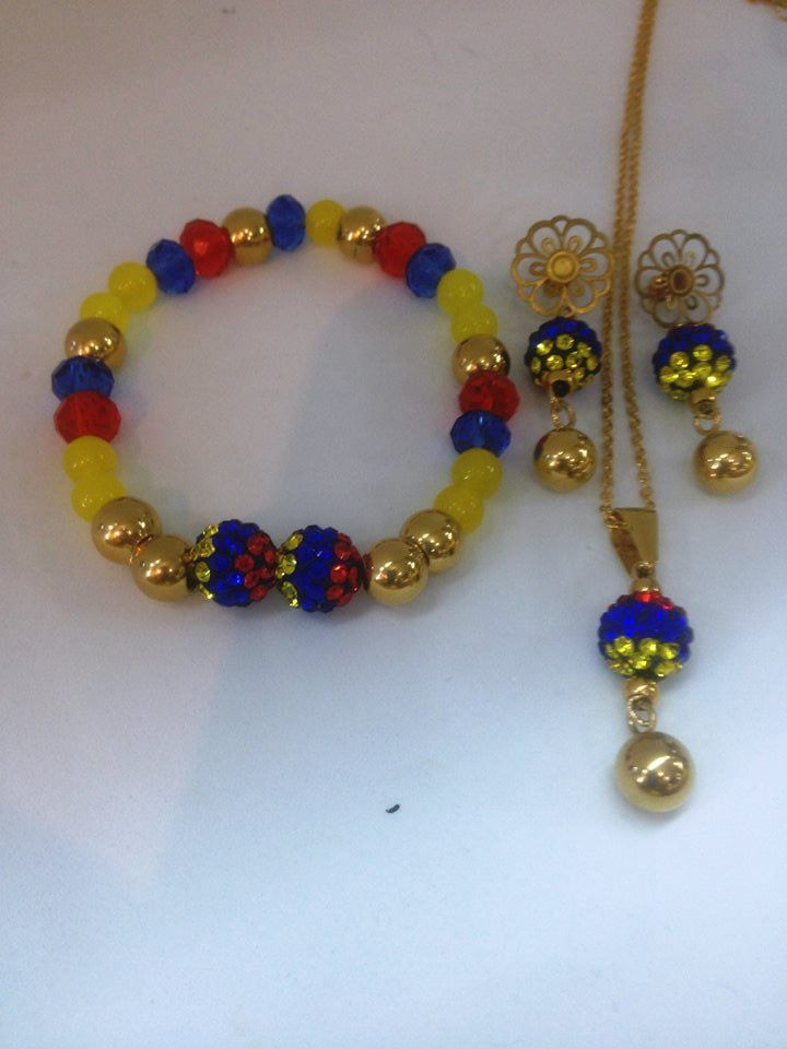 calidad superior paquete elegante y resistente última moda Set de Colombia | Jewelry Making | Pulseras, Bisuteria ...