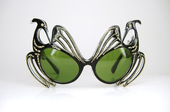 These amazing vintage French eyeglass frames are NOT reproduction. Talk about FABULOUS!!!