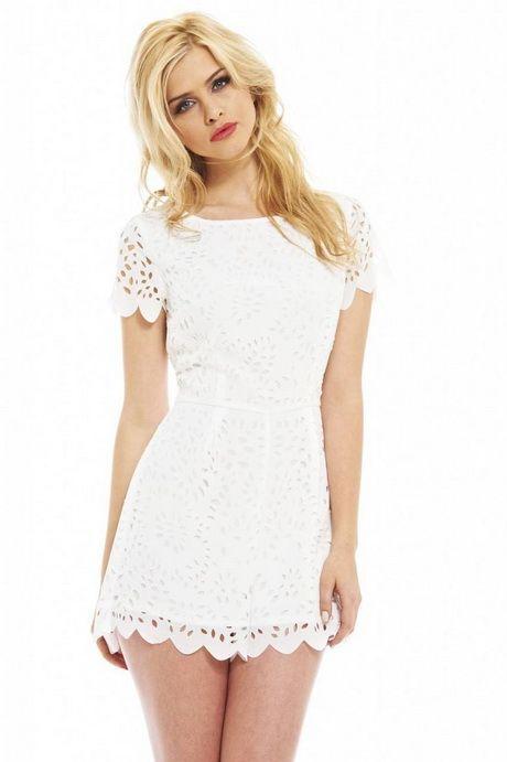 Blanco vestidos 2018