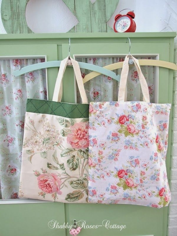 shabby roses cottage simple bag bag co pinterest einrichten und wohnen n hen und. Black Bedroom Furniture Sets. Home Design Ideas