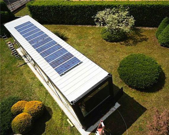Greentainer Shipping Container Bird S Eye View Our