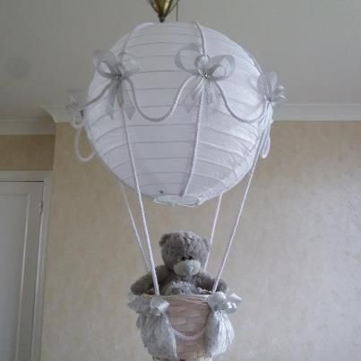 Hot air balloon lampshade nursery pinterest hot air balloons hot air balloon lampshade aloadofball Images