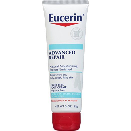 Advanced Repair Light Feel Foot Creme Eucerin Fragrance Free