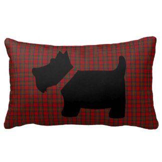 Scottie Dog Pattern Pillows, Scottie Dog Pattern Throw Pillows