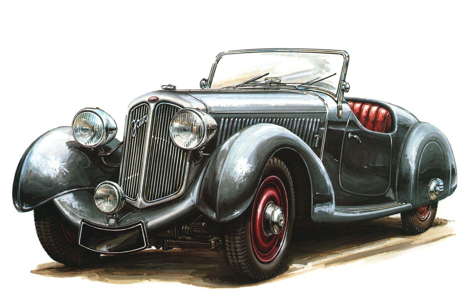 Vintage Car Artwork Vintage Cars Cars Classic Cars