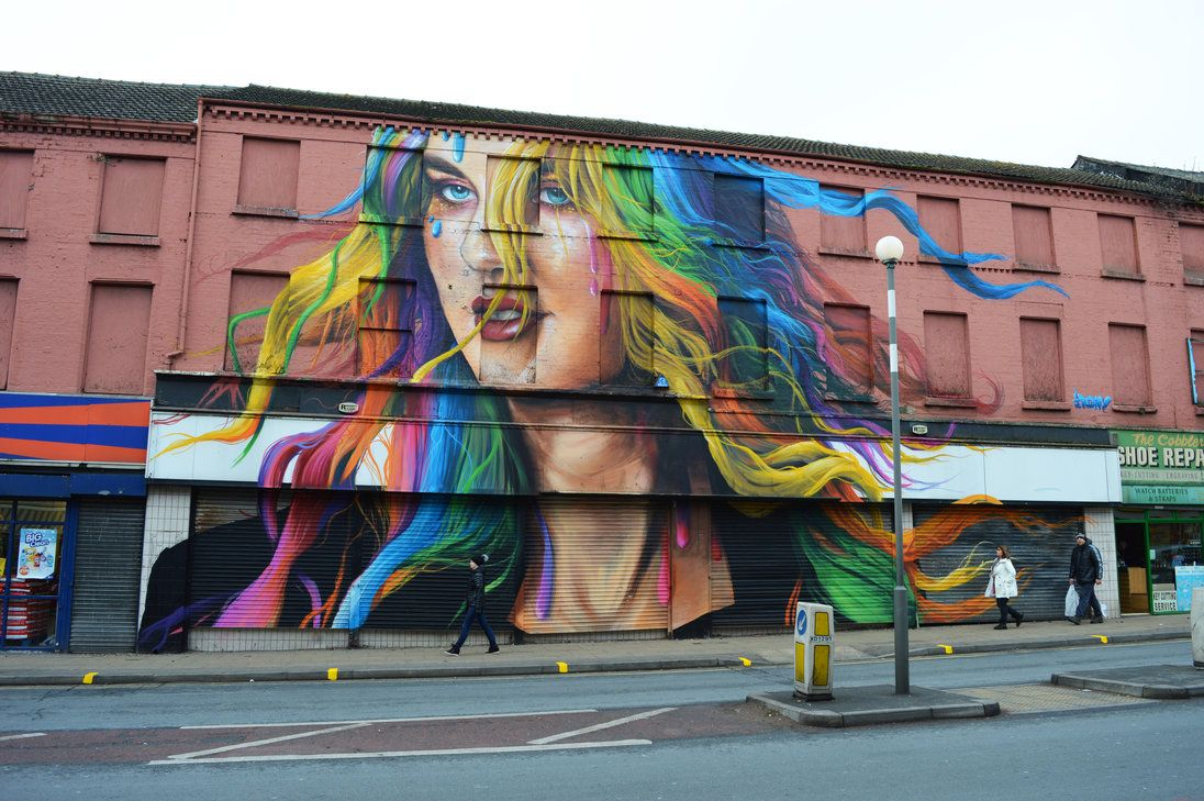 Liverpools most iconic street art street art amazing