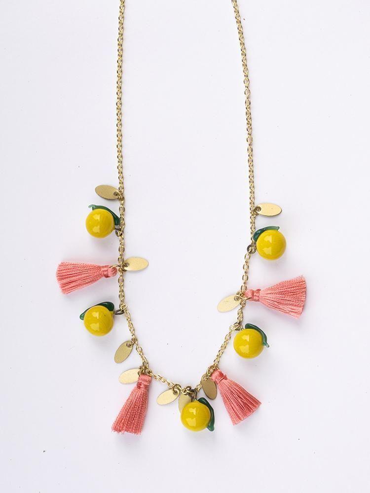 Limonata Halskette Gelb