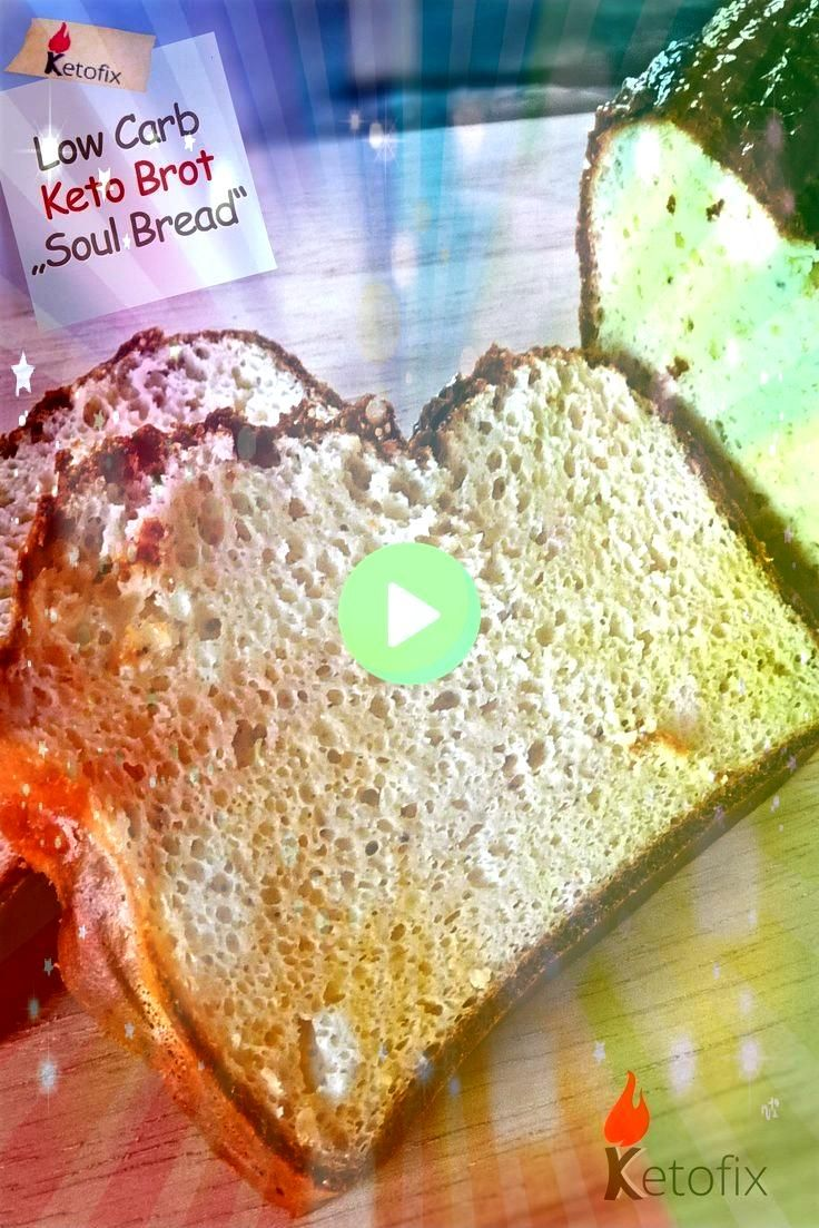 Carb Keto Brot Soul Bread Low Carb Keto Brot Soul Bread  Enjoy this tropical twist on banana bread Packed full of pineapple and cherries and drizzled with a coconut milk...